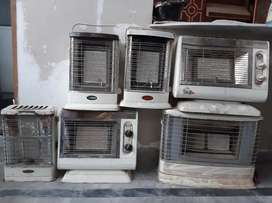 Gas Heaters almost new with latest technology