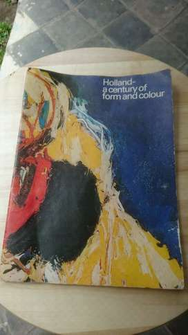 Buku Lukisan Impor Holland A Century of Form and Colour