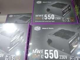 Cooler master 550 watt SMPS 5 year warranty only@3850 Gautam groups