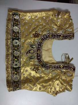 Wedding bridal chaniya choli bought for 70000 3 yrs back (negotiable)