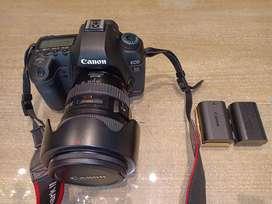 Canon 5D Mark II + Lensa