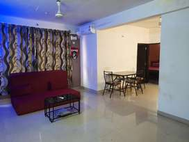 Available 2bhk furnished flat for rent in sucorro porvorim.