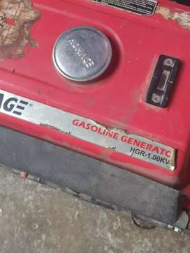Homeage 1kv almost new generator running condition