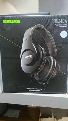 Headphone shure SRH240A
