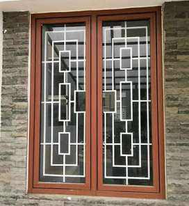 Tralis jendela minimalis