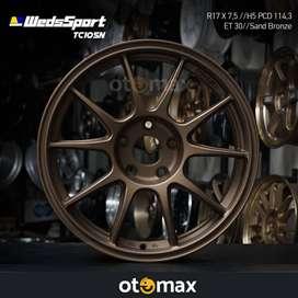 Velg Mobil Weds Sport TC105N (6842) Ring 17 H5 Sand Bronze