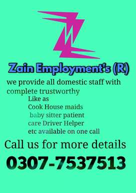 HOME SERVENTS AVALAIBLE .COOK DRIVER .MAIDS .ETC