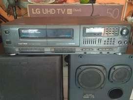 Speaker dan tape deck Polytron
