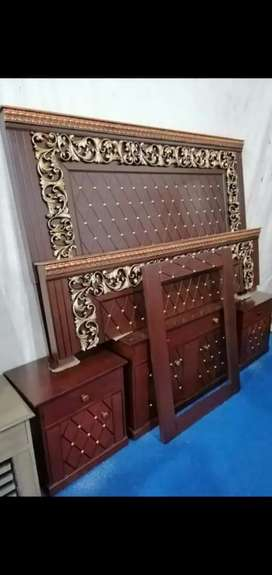 Bed sofa iron stand chair almari for sale
