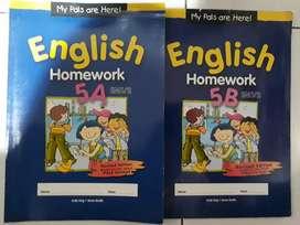 Buku English Homework 5A-5B