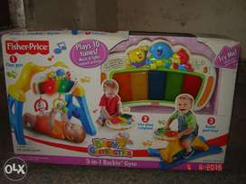 Fisher Price 3 in 1 Rockin' Gym