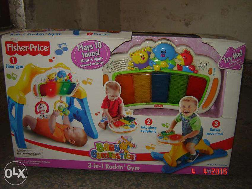 Fisher Price 3 in 1 Rockin' Gym 0