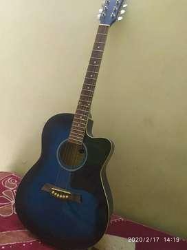 Guitar ( stylish blue colour)