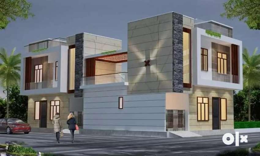 100 yds Duplex in Dwarika puri Mrt 0