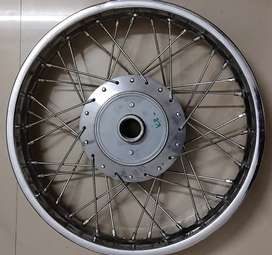 Royal Enfield spoke wheel
