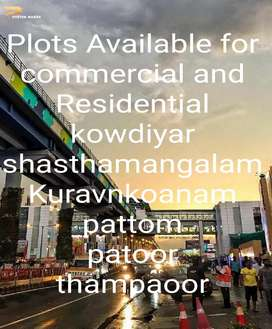 Plots Available for house and commercial Building