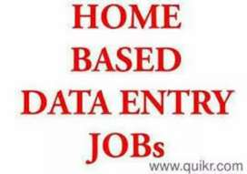 Limited seats of data entry jobs