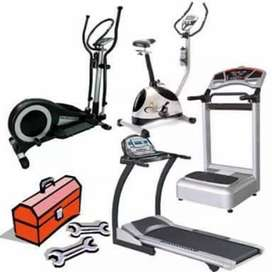 Treadmil Exercise cycle home gym sale and purchase
