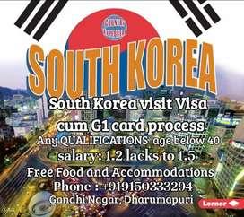 Requrment for south korea