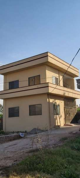 2.5 Marla Double-Story Corner House for Sale in 38 Lakh