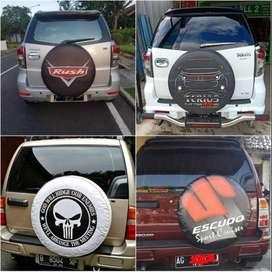 lihat Cover/Sarung Ban serep/Panther/CRV/Jeep/Rush/Terios/boom#Socieda