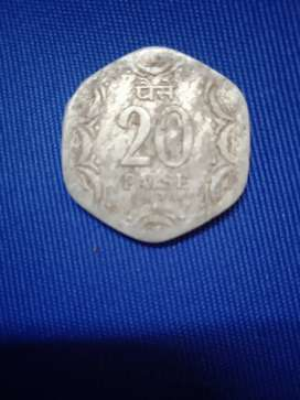 Old 20 paise