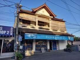 Jual rumah dan toko lantai 2 di sesetan denpasar