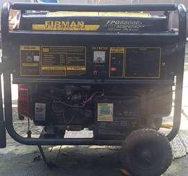 Mesin Genset Generator merk Firman FGP8800e3 6600watt