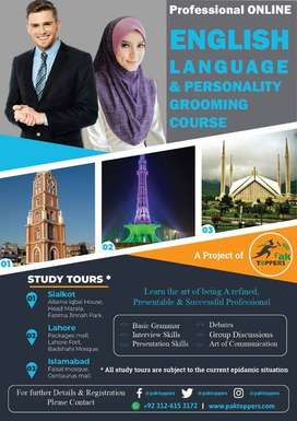 Online English speaking course with paktoppers