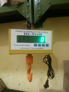 Electronic weigh machine