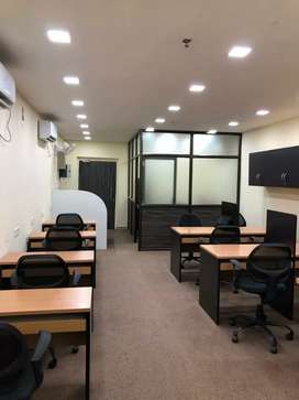 Full furnished office rent astra tower, 24×7 working time with parking
