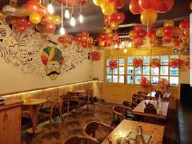 Full furnished Restaurant &cafe for sale tie up with ZOMATO,SWIGGY,etc
