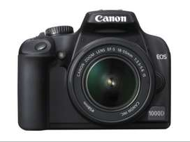 CANON EOS 1000D Digital SLR Camera with EF S18-55 Lens