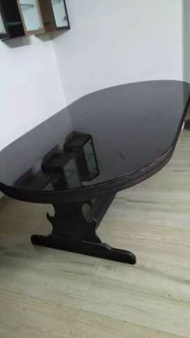 Quality jack wood  dining table  good condition