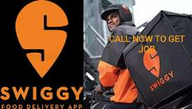 SWIGGY REQUIRED FOOD DELIVERY BOYS FOR HYDERABAD CITY