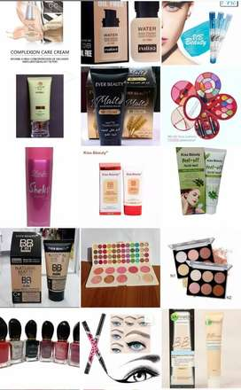 All kinds of makeup available in wholesale