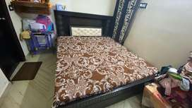 Double bed. Good condition.