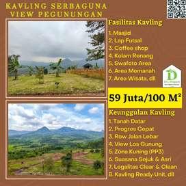 Jual lahan Kavling di Bogor, cocok untuk Villa