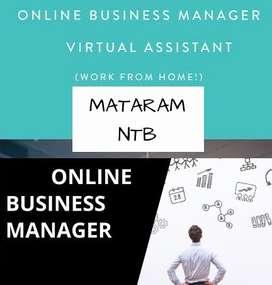 DICARI ONLINE BUSINESS MANAGER AREA MATARAM NTB