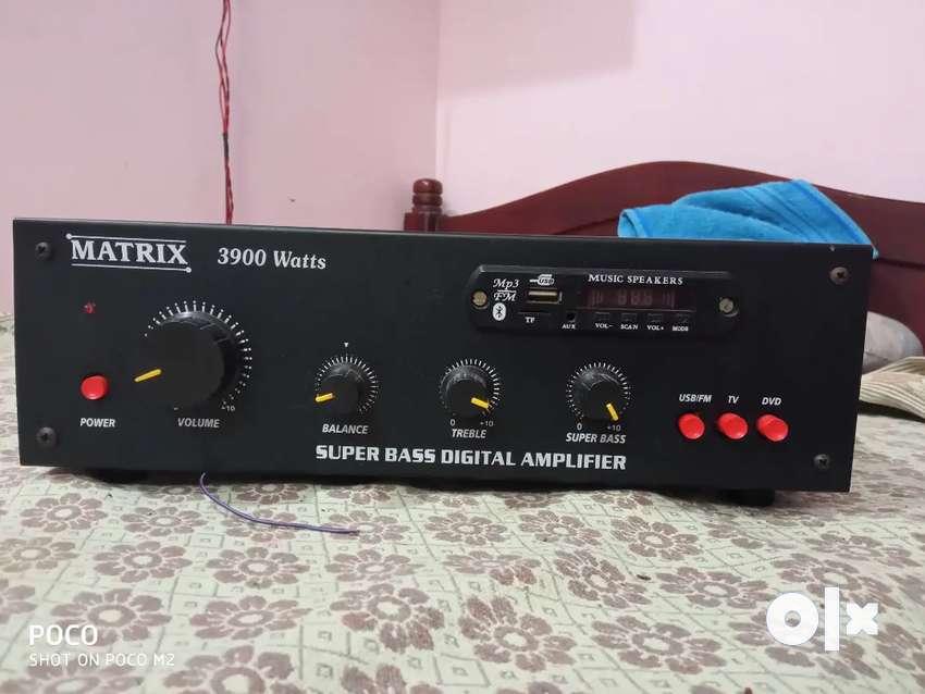 Amplifire wifh speaker box 0