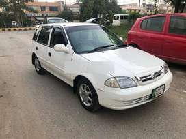 Suzuki cultus on easy monthly  insatllment