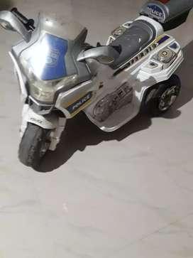 Police bike Betry charge bike