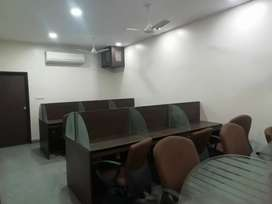 18 work stations office for rent in Begumpet