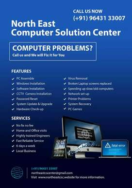 Require Office room for Computer I Mobile repair services