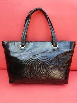 Tas import eks CHANEL made in France bsr tbal klt asli pattern leather