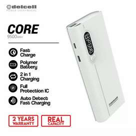 Power Bank Delcell Garansi 2 tahun by delcell 9500 Mah
