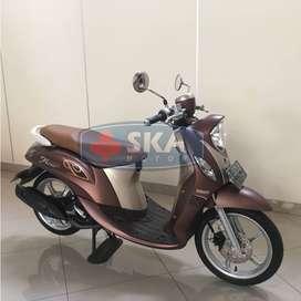 Yamaha Fino 125 Sporty 2019 warna Coklat Termurahh