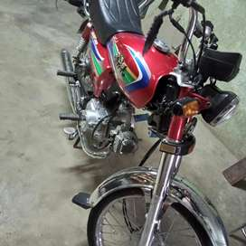 New Asia bike new condition 10/10 price 37000