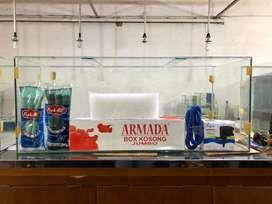 Aquarium ready 100x45x40 paket