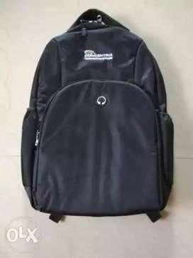 New Black Backpack Bag